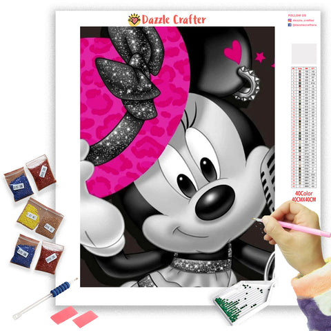 SMART MICKEY Diamond Painting Kit