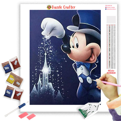 DISNEYLAND SPARKLES Diamond Painting Kit