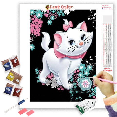 MARIE CAT Diamond Painting Kit