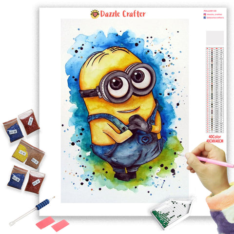 Image of STUART LITTLE MINION  Diamond Painting Kit