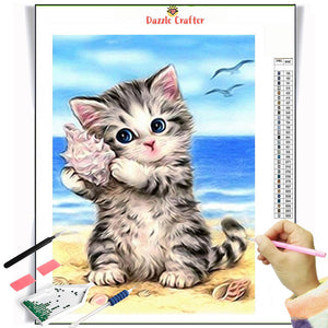 SOUND OF WAVES  Diamond Painting Kit - DAZZLE CRAFTER