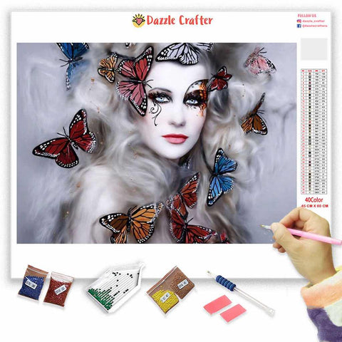 BUTTERFLY DREAMS Diamond Painting Kit