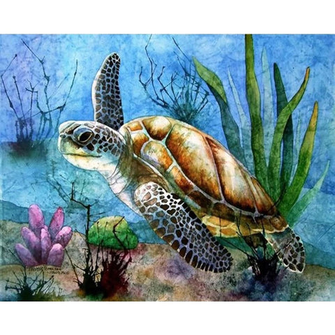 UNDERWATER TURTLE Diamond Painting Kit