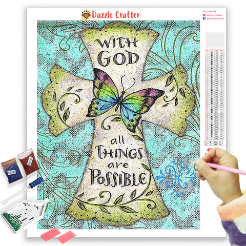 Image of ALL THINGS POSSIBLE Diamond Painting Kit