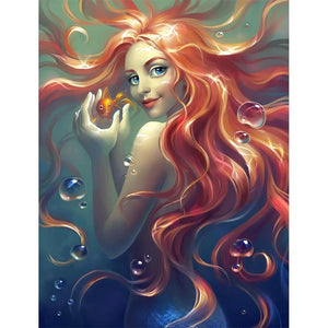 RED HAIR VIXEN  Diamond Painting Kit
