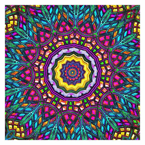Image of MANDALA DESIGN 28 Diamond Painting Kit