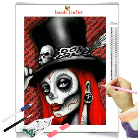 Image of THE MAGICIAN  Diamond Painting Kit