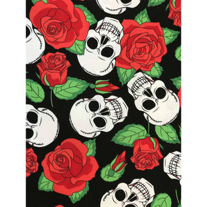 SKULLS AND ROSES Diamond Painting Kit