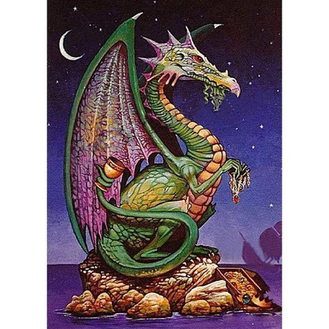 FANTASY DINOSAUR Diamond Painting Kit