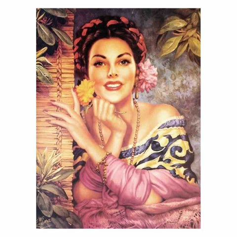 Image of WAITING FOR YOU VINTAGE Diamond Painting Kit
