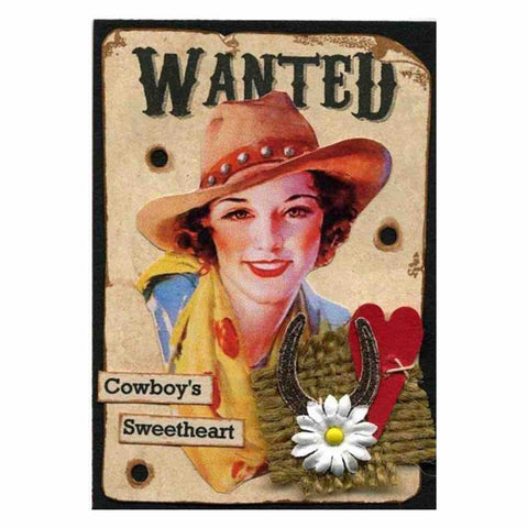 Image of COWBOY'S SWEETHEART  Diamond Painting Kit