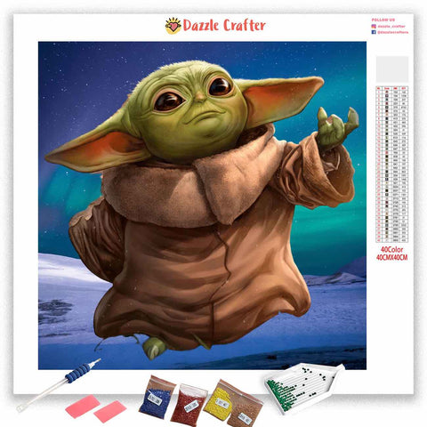 BABY YODA  Diamond Painting Kit