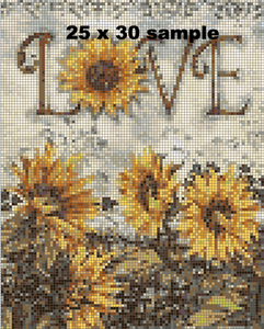 Sunflower Love Diamond Painting Kit - DAZZLE CRAFTER