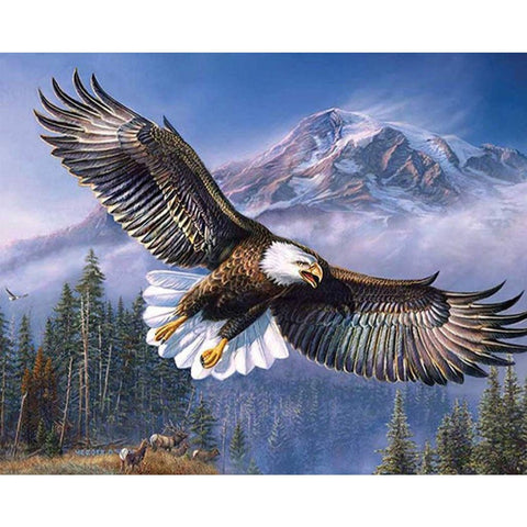 Image of SOARING EAGLE Diamond Painting Kit