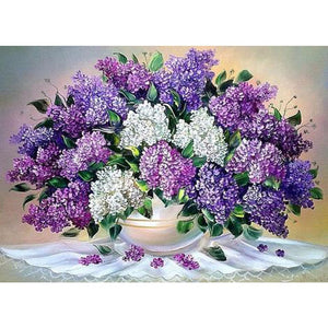 PURPLE LAVENDER BOUQUET Diamond Painting Kit - DAZZLE CRAFTER