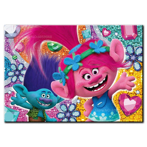 SMILING TROLLS Diamond Painting Kit - DAZZLE CRAFTER