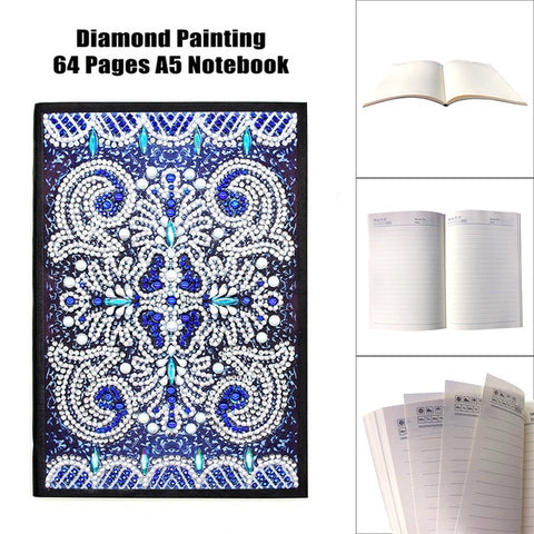 DIY Diamond Painting Notebook - DAZZLE CRAFTER