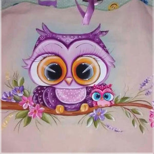 OWL WITH BOW Diamond Painting Kit - DAZZLE CRAFTER
