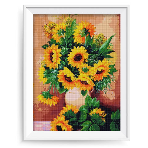 Image of SUNFLOWER BEAUTY Diamond Painting Kit - DAZZLE CRAFTER