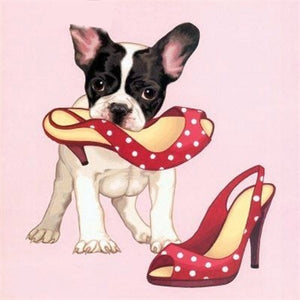 CUTE PUPPY SERIES Diamond Painting Kit - DAZZLE CRAFTER