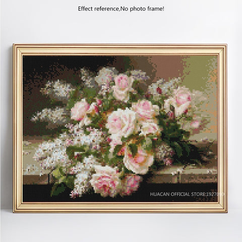 Image of WEDDING ROSES Diamond Painting Kit - DAZZLE CRAFTER