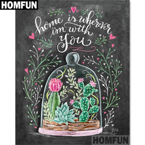 Image of CHALKBOARD COLLECTION - LIFE QUOTES Diamond Painting Kit - DAZZLE CRAFTER