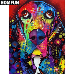 COLORFUL GREAT DANE Diamond Painting Kit - DAZZLE CRAFTER