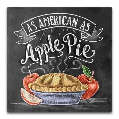 As American As Apple Pie Diamond Painting Kit - DAZZLE CRAFTER