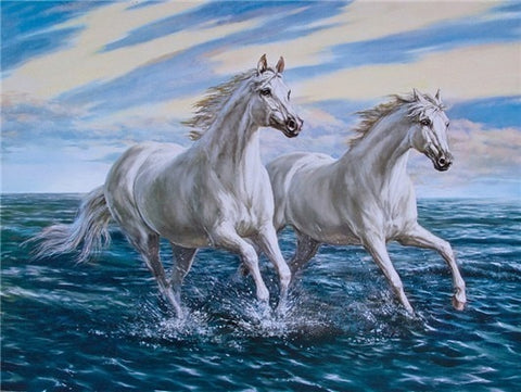 GALLOPING HORSES SERIES Diamond Painting Kit - DAZZLE CRAFTER