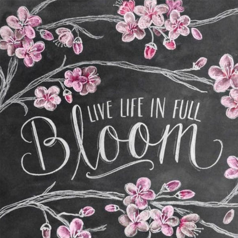 Image of LIVE LIFE IN FULL BLOOM Diamond Painting Kit - DAZZLE CRAFTER