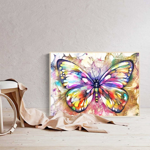Image of PURPLE SHADES BUTTERFLY SERIES Diamond Painting Kit - DAZZLE CRAFTER