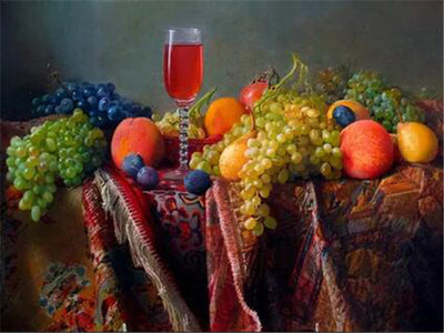 FRUITS & WINE SERIES Diamond Painting Kit - DAZZLE CRAFTER
