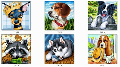 Image of MY SWEET PETS Diamond Painting Kit - DAZZLE CRAFTER