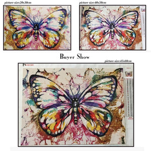 PURPLE SHADES BUTTERFLY SERIES Diamond Painting Kit - DAZZLE CRAFTER