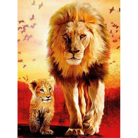 Image of KING OF THE JUNGLE  Diamond Painting Kit