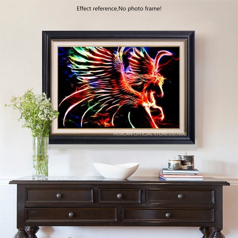 Image of NEON MULTICOLOR ANIMAL SERIES Diamond Painting Kit - DAZZLE CRAFTER