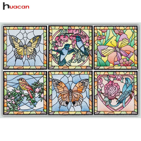 Image of STAINED GLASS SERIES Diamond Painting Kit - DAZZLE CRAFTER