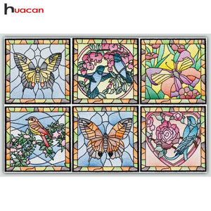 STAINED GLASS SERIES Diamond Painting Kit - DAZZLE CRAFTER