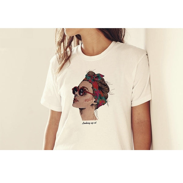 2019 Fashion Cool Print Female T-Shirt