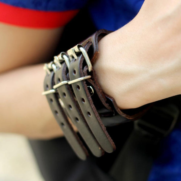 Bracelet | Leather Wide