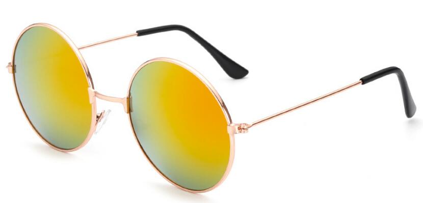 Round Polarized Sunglasses