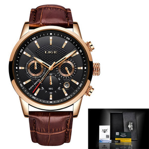 Men Luxury Chronograph Quartz Wristwatches 42mm