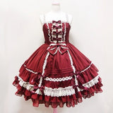Robe Sweet Lolita JSK multi couches