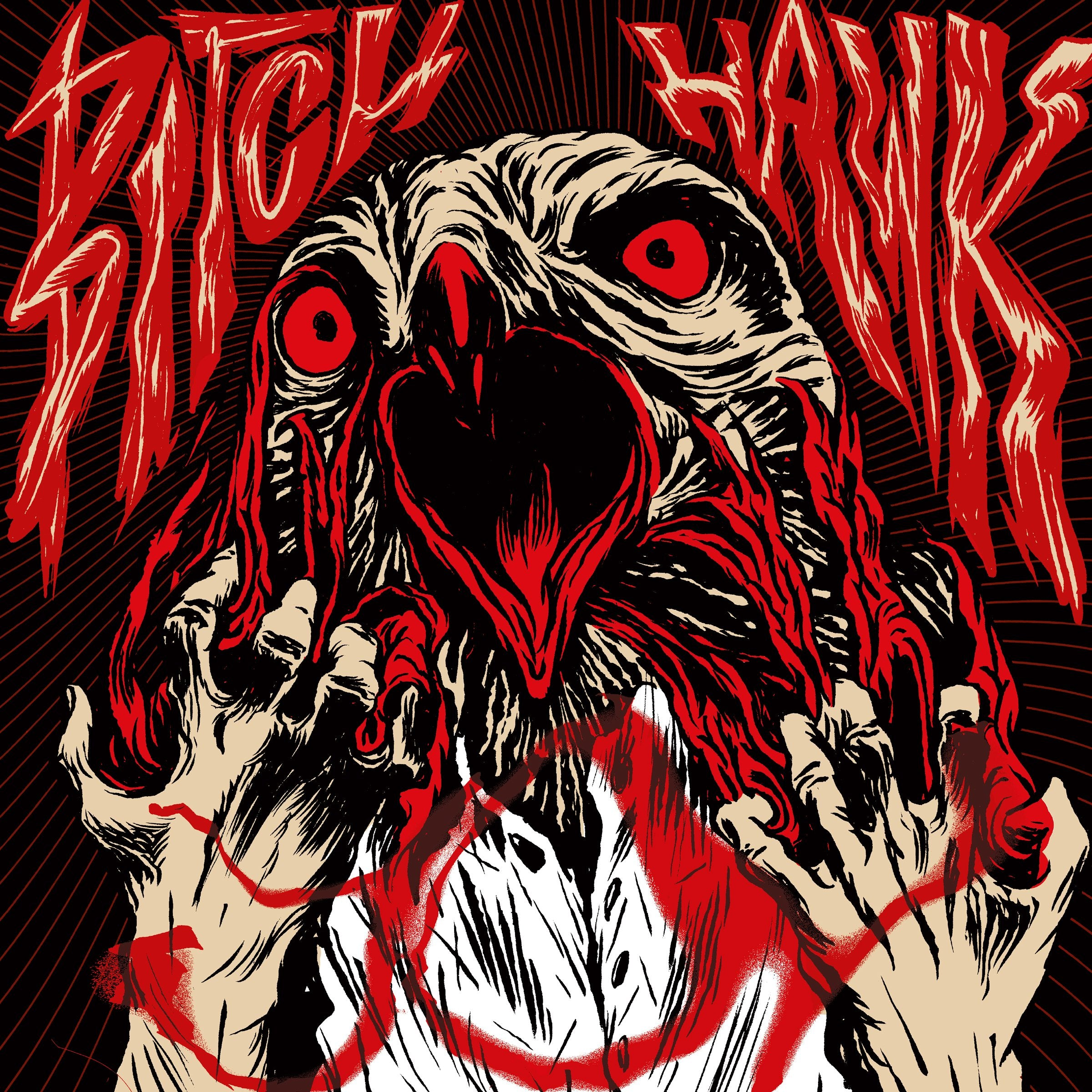 Bitch Hawk - 2 vinyl albums bundle