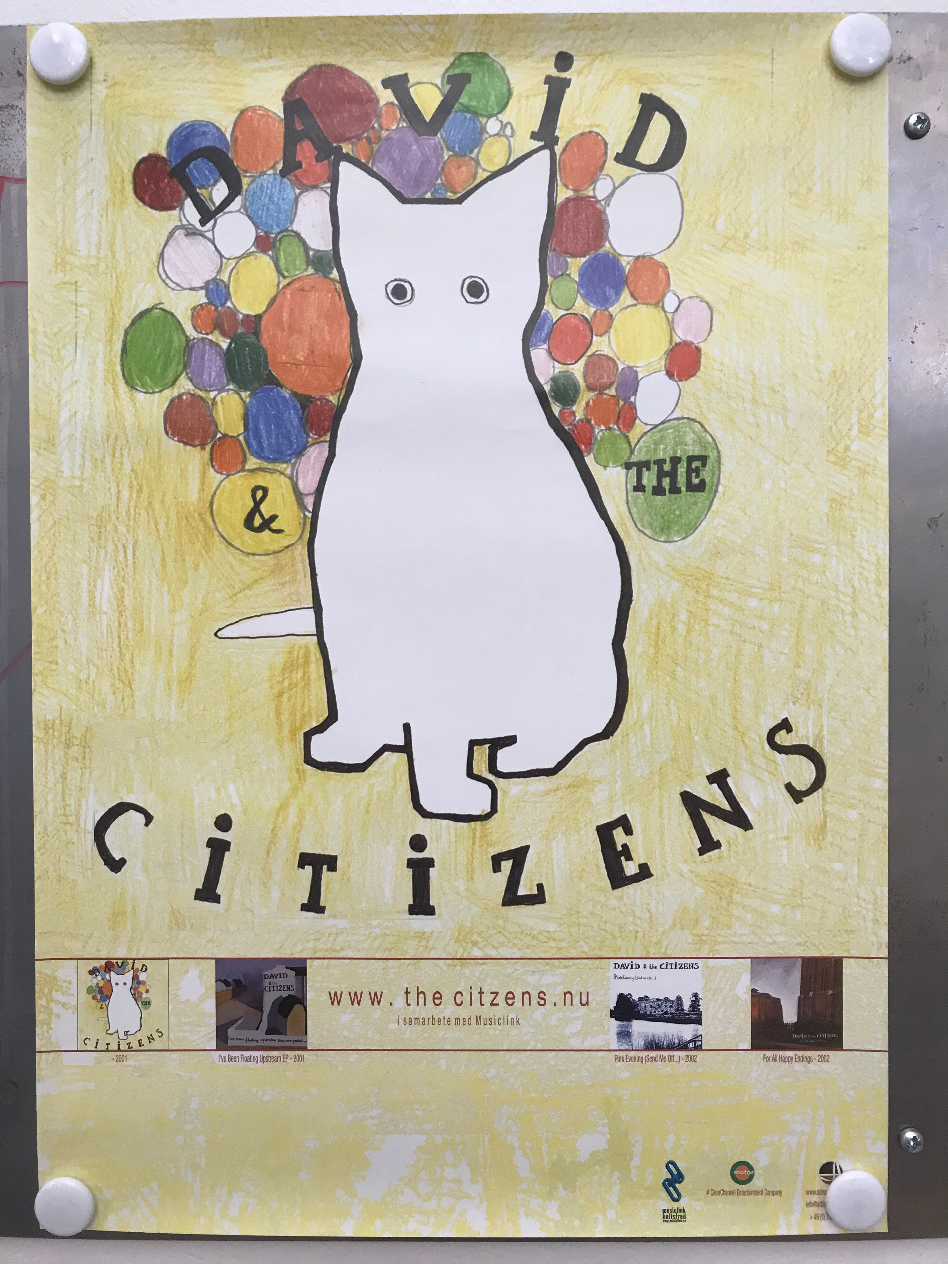 David & the Citizens - Beppe (Poster)