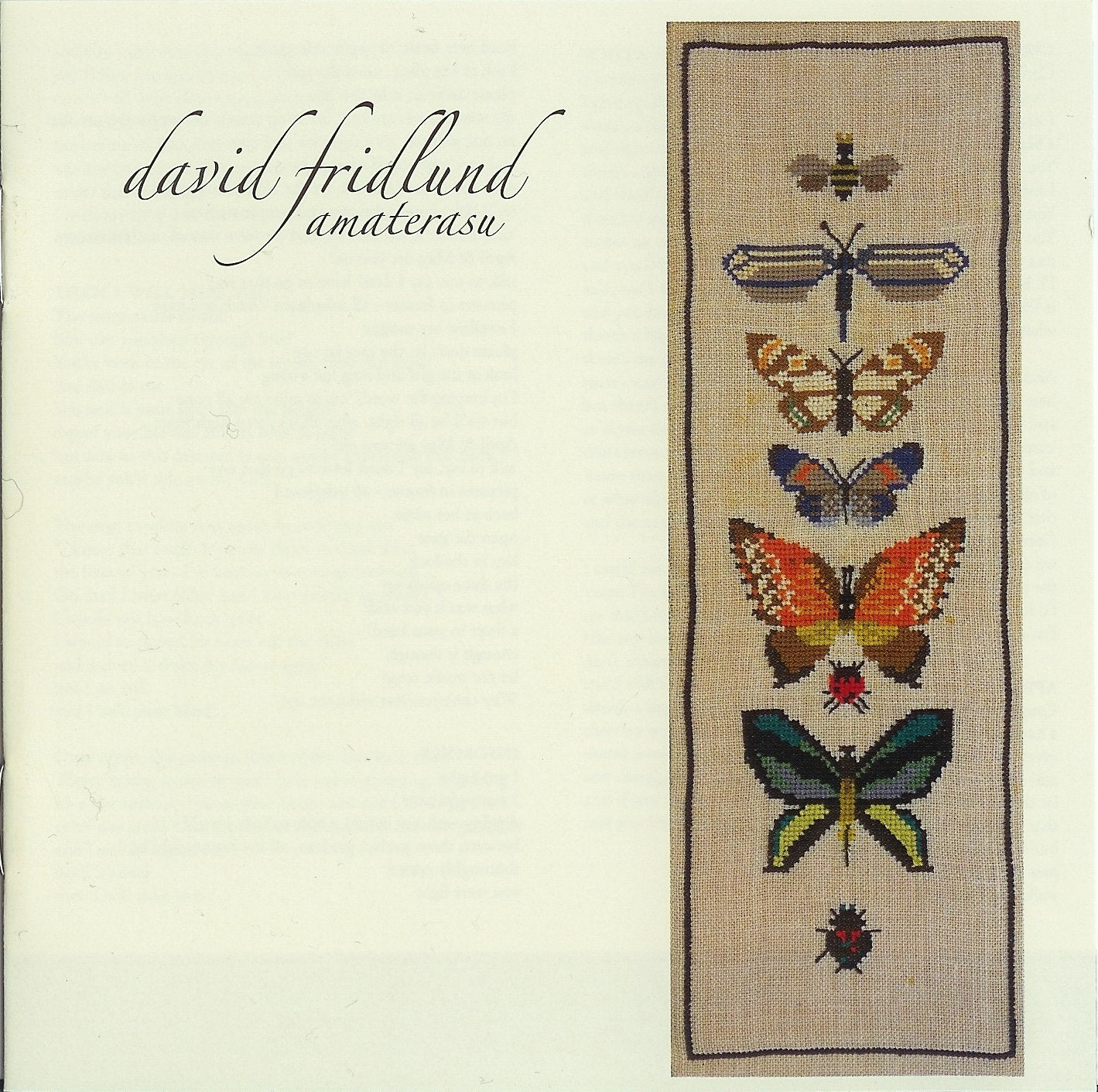David Fridlund - Amaterasu