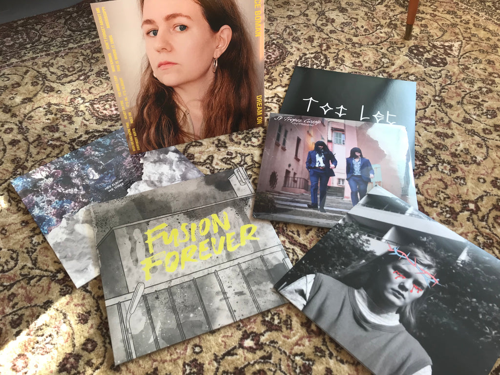 2020 vinyl bundle - Alice Boman, Hey Elbow, Spunsugar, Toi Let, JH3, Surf Philosophies