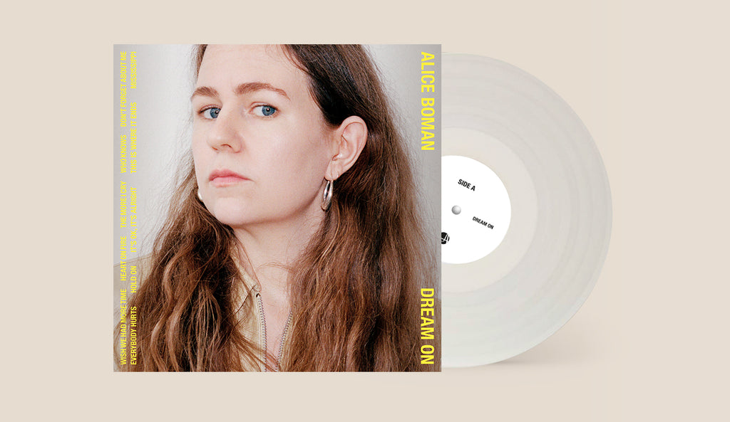 Alice Boman - Dream On (Signed clear vinyl pre-order)