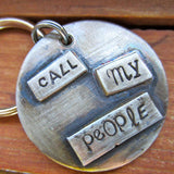 Call My People Pet Tag