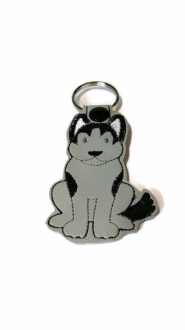 Husky Dog Key Chain